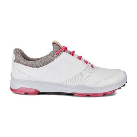 Golf undefined ECCO BIOM Hybrid 3 GTX Women's Golf Shoe - White/Red made by ECCO