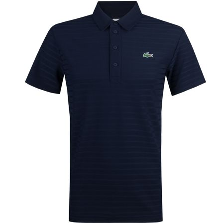 Golf undefined Technical Jacquard Polo Navy - 2018 made by Lacoste