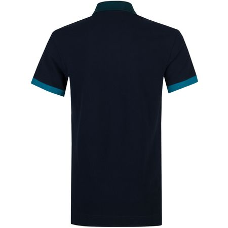 Golf undefined Jarret Contrast Polo Navy/Petrol made by Orlebar Brown