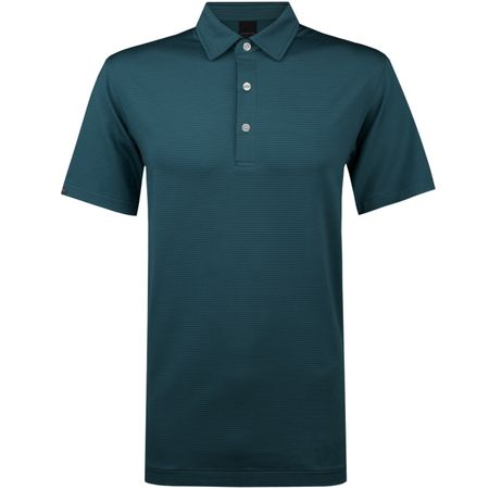 Golf undefined Jersey Stripe Polo Sage made by Dunning