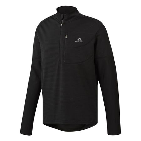 Golf undefined Adidas ClimaWarm Gridded 1/2 Zip Sweatshirt made by Adidas Golf