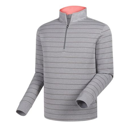 Outerwear Double Layer Stripe Half-Zip Mid-Layer FootJoy Picture