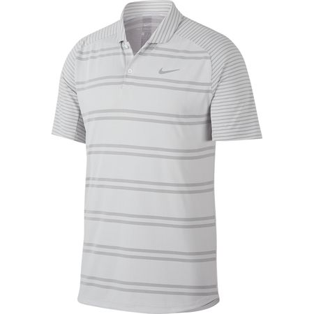 Golf undefined Nike Zonal Cooling Striped Polo made by Nike Golf
