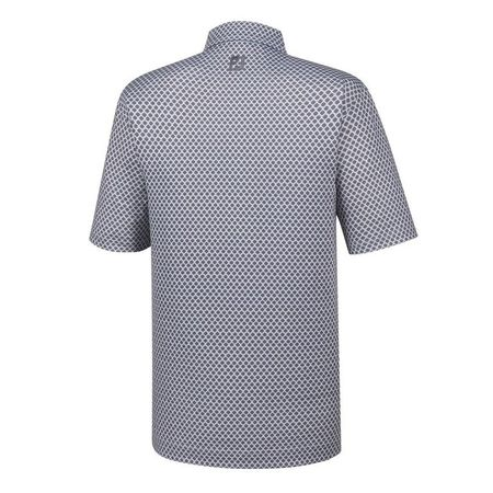 Golf undefined Athletic Fit Lisle Foulard Print Self Collar Polo made by FootJoy