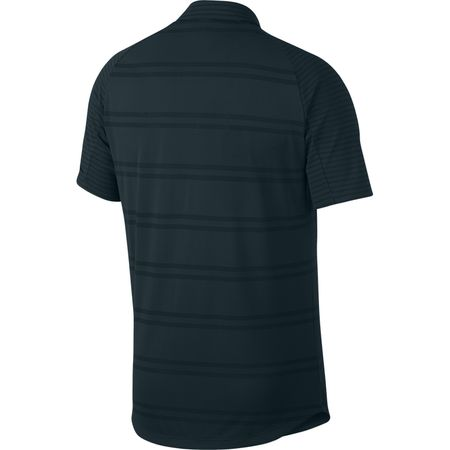 Golf undefined Nike Zonal Cooling Striped Golf Polo made by Nike Golf