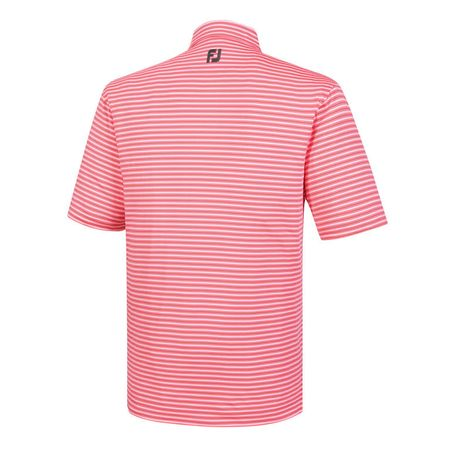 Golf undefined Lisle Classic Stripe Self Collar Polo made by FootJoy