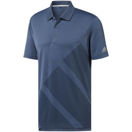 Golf undefined Adidas Adistar Bold 3 Stripe Polo made by Adidas Golf