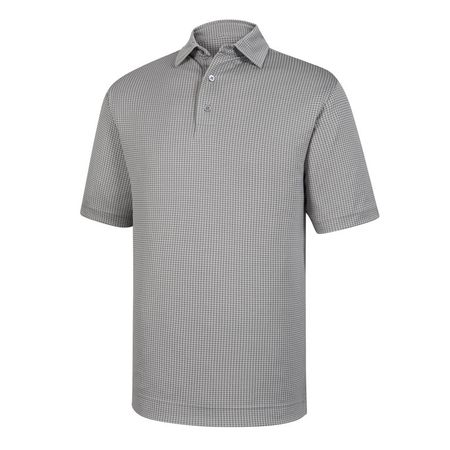 Shirt Diamond Jacquard Self Collar Polo FootJoy Picture
