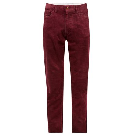 Golf undefined Five Pocket Performance Corduroy Classic Wine - AW18 made by Polo Ralph Lauren