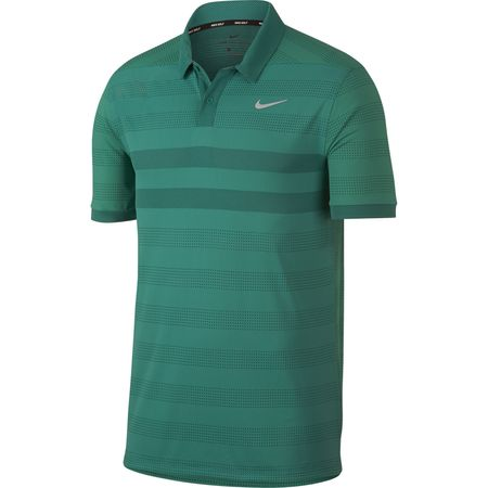 Golf undefined Nike Zonal Cooling Striped Golf Polo made by Nike