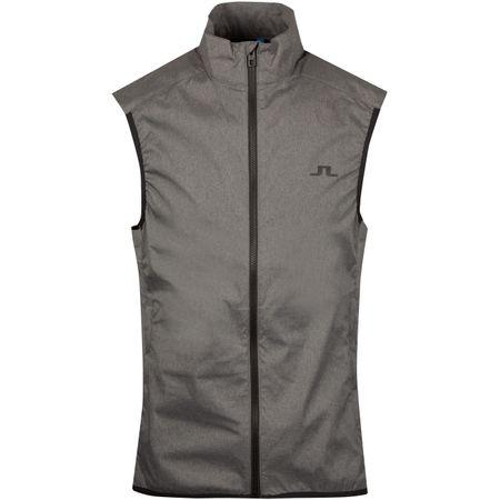 Golf undefined Yosef Trusty Vest Dark Grey Melange - SS19 made by J.Lindeberg