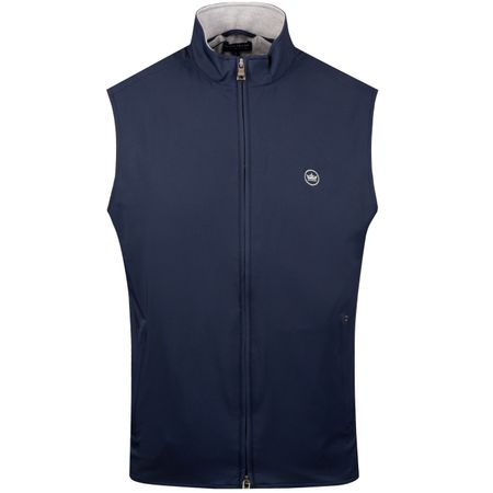 Golf undefined Stealth Hybrid Vest Navy - SS19 made by Peter Millar