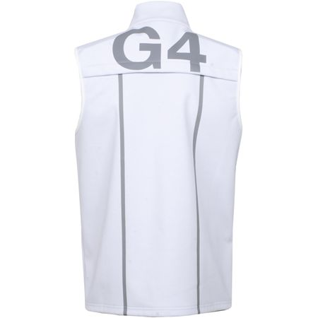 Golf undefined Fleece Backed Vest Snow - SS19 made by G/FORE