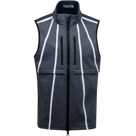 Golf undefined Fleece Backed Vest Heather Grey - SS19 made by G/FORE
