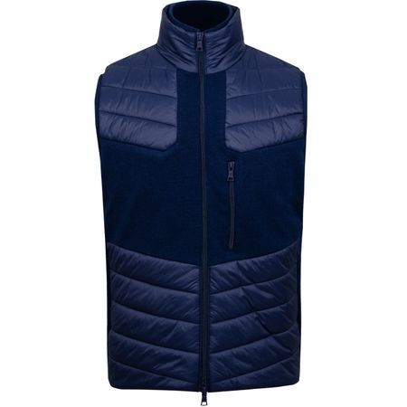 Golf undefined Lightweight Puff Vest Twilight - SS19 made by G/FORE