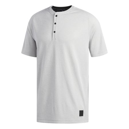 Golf undefined Adicross No Show Transition Short Sleeve Henley made by Adidas Golf