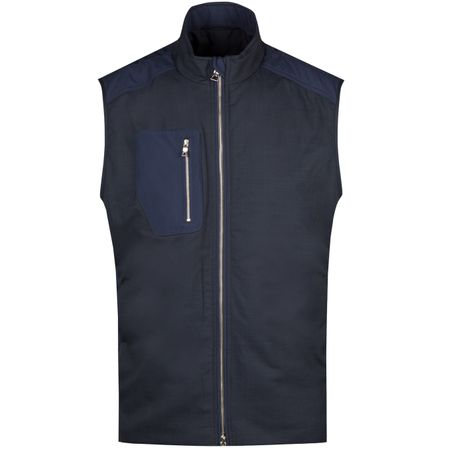 Golf undefined Crown Crafted Performance Vest Navy - AW18 made by Peter Millar