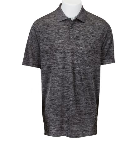 Golf undefined Paragon Dakota Striated Heather Men's Polo made by Century Palace Apparel