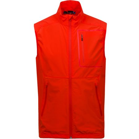 Golf undefined Kinetic Vest Lux Softshell Racing Red - SS18 made by J.Lindeberg