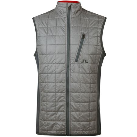 Golf undefined Atna Hybrid Vest Pertex Grey Melange made by J.Lindeberg