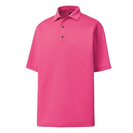 Shirt FootJoy Geometric Heather Jacquard Self Collar Polo FootJoy Picture