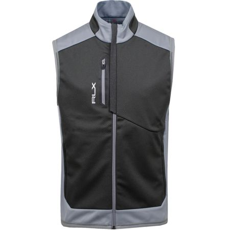 Golf undefined Bonded Softshell Gilet Museum Grey - AW18 made by Polo Ralph Lauren