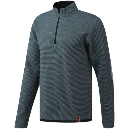 Outerwear Adidas Adicross Textured Fleece 1/4 Zip Adidas Golf Picture