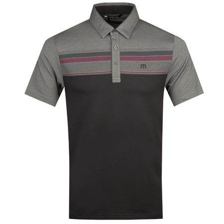 Polo Gregorio Black/Sharkskin - AW18 TravisMathew Picture