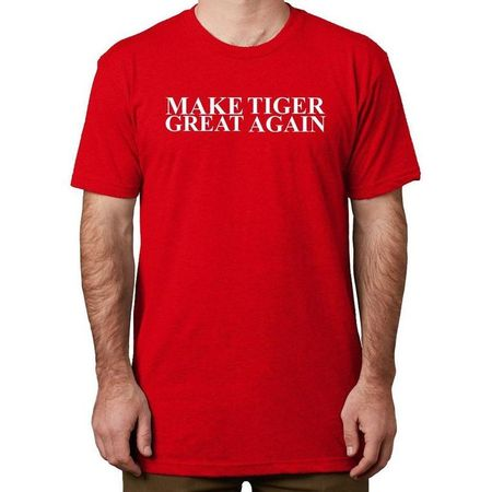 Golf undefined USAG Make Tiger Great Again T-Shirt made by U Suck At Golf
