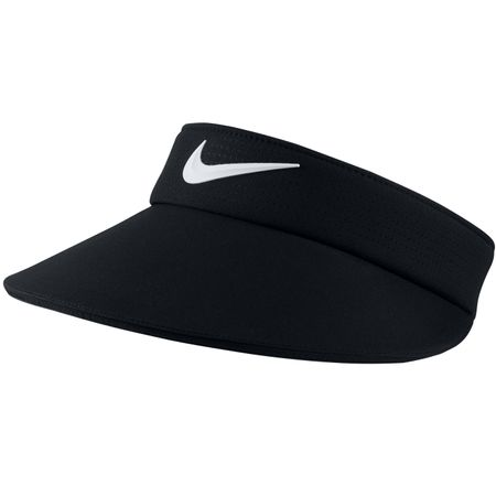 Golf undefined Womens Aerobill Visor Black/White - 2019 made by Nike Golf