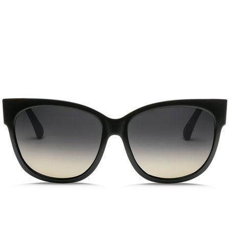 Sunglasses Electric Womens Danger Cat Gloss Black/OHM Polar Grey - 2018 Electric Picture