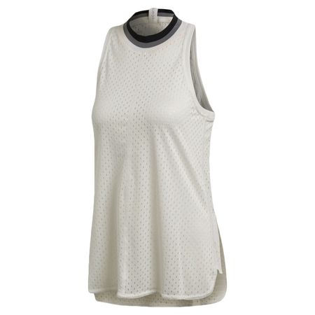 Golf undefined Train Mesh Tank White - SS19 made by Adidas Golf