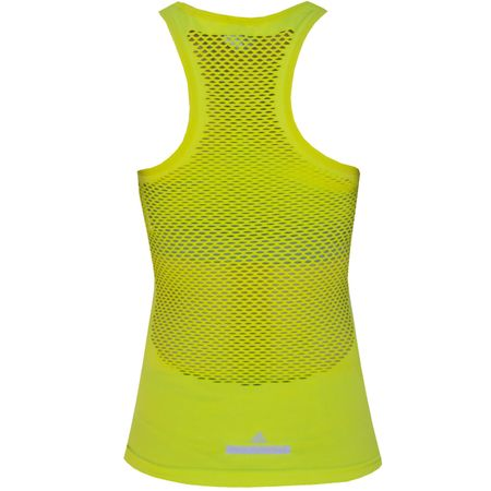 Golf undefined Womens Studio Seamless Mesh Tank Lab Lime - FINAL SALE made by Adidas Golf