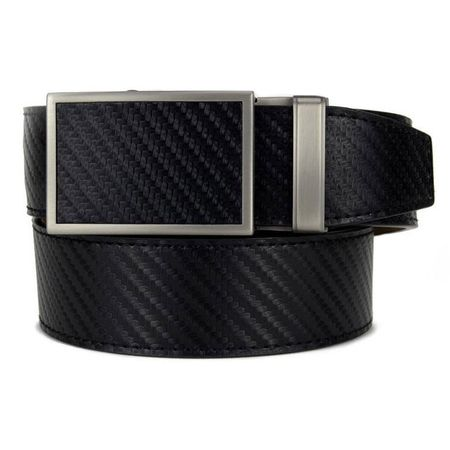 Golf undefined Nexbelt Go-In Fast Eddie Carbon Belt - Black made by Nexbelt