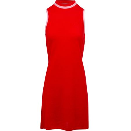 Golf undefined Womens Sleeveless Mock Dress Poppy - SS19 made by G/FORE