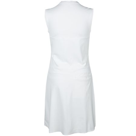 Golf undefined Womens Flex Dress White made by Nike