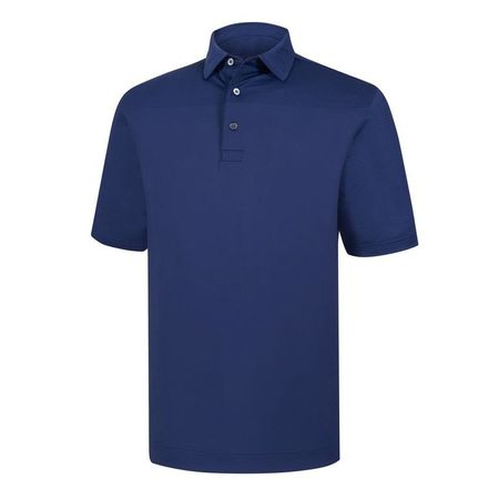 Golf undefined Lisle Engineered Tonal Print Self Collar Polo made by FootJoy
