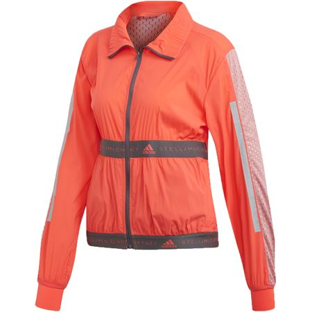 Golf undefined Run Light Jacket Hot Coral - SS19 made by Adidas Golf