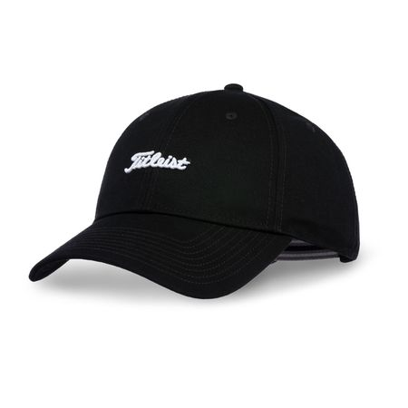 Golf undefined Nantucket Black & White Hat made by Titleist