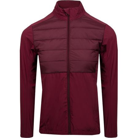 Jacket Womens Season Hybrid Jacket Dark Mahogany - 2019 J.Lindeberg Picture