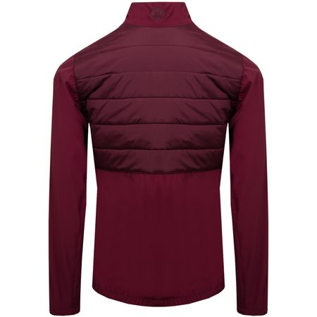 Golf undefined Womens Season Hybrid Jacket Dark Mahogany - 2019 made by J.Lindeberg