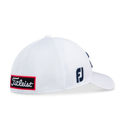 Golf undefined Tour Sports Mesh White Hat made by Titleist