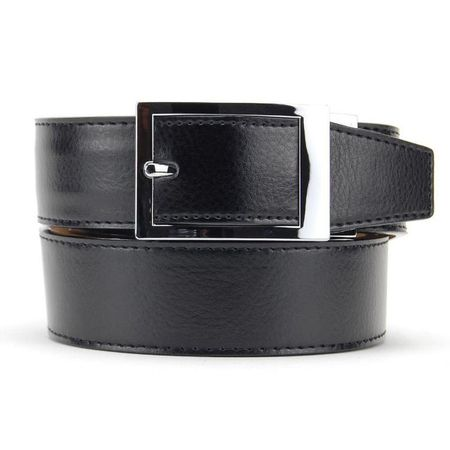 Golf undefined Nexbelt Essential Classic Ebony Dress Belt made by Nexbelt
