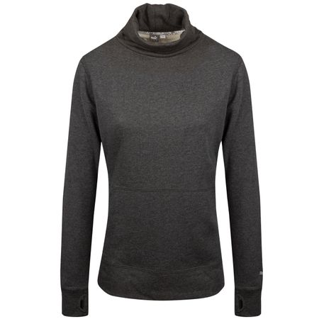 Golf undefined Womens Brisk Pullover Dark Grey Heather - SS19 made by Puma Golf