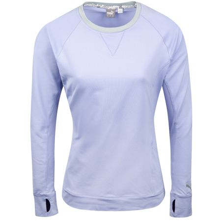 Golf undefined Womens Tech Crew Sweet Lavender - SS19 made by Puma Golf