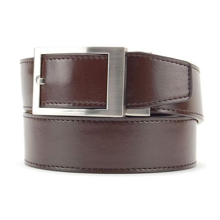 Belt Nexbelt Essential Classic Dress Belt - Dark Brown Nexbelt Picture