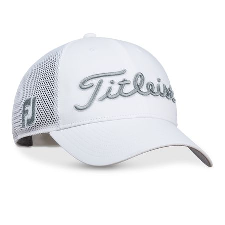 Golf undefined Tour Performance Mesh White Hat made by Titleist