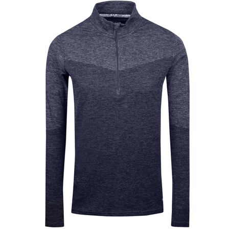 Golf undefined Womens Evoknit Quarter Zip Peacoat Heather - SS19 made by Puma Golf
