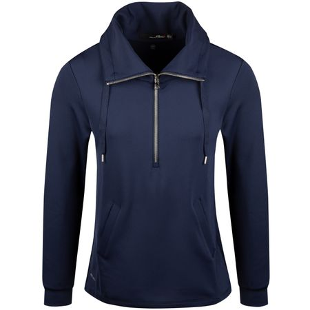 Golf undefined Womens Tech Funnelneck French Navy - SS19 made by Polo Ralph Lauren