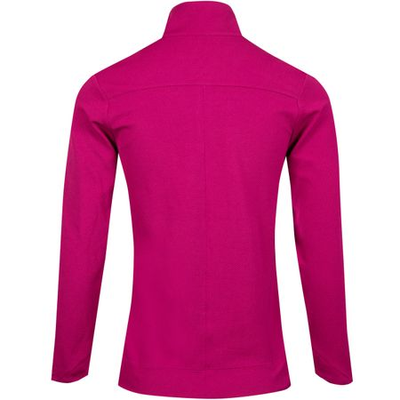 Golf undefined Womens Dry UV Quarter Zip Mid True Berry - SS19 made by Nike